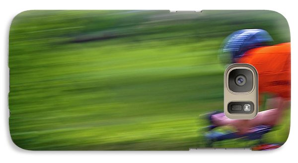 Galaxy Case featuring the photograph At The Speed Of Light by Linda Unger