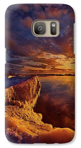 Galaxy Case featuring the photograph At World's End by Phil Koch