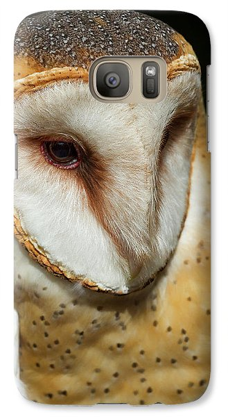 Galaxy Case featuring the photograph Athena The Barn Owl by Arthur Dodd