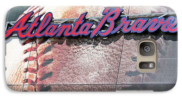 Galaxy Case featuring the photograph Atlanta Braves by Kristin Elmquist