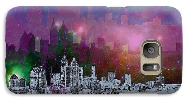Landscapes Galaxy S7 Case - Atlanta Skyline 7 by Alberto RuiZ