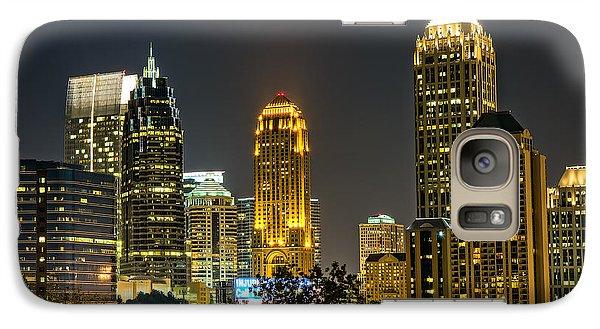 Galaxy Case featuring the photograph Atlanta Skyscrapers  by Anna Rumiantseva