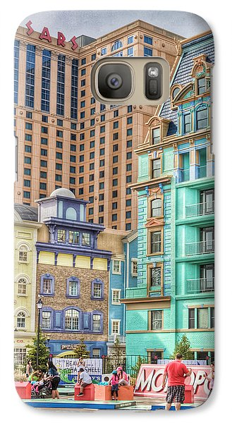 Galaxy Case featuring the photograph Atlantic City Boardwalk by Matthew Bamberg