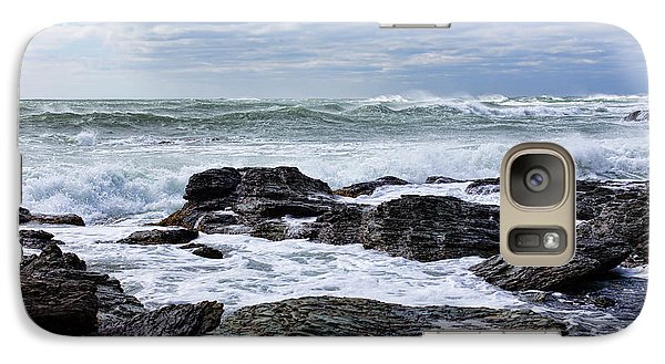 Galaxy Case featuring the photograph Atlantic Scenery by Andrew Pacheco