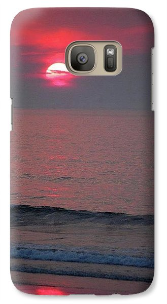 Galaxy Case featuring the photograph Atlantic Sunrise by Sumoflam Photography