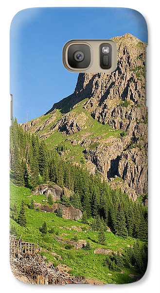 Galaxy Case featuring the photograph Atlas Mine by Steve Stuller