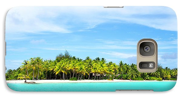Galaxy Case featuring the photograph Atoll by Sharon Jones