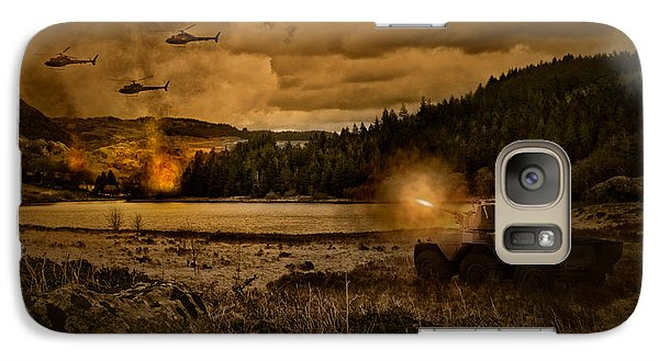 Attack At Nightfall Galaxy S7 Case by Amanda Elwell