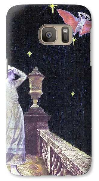 Galaxy Case featuring the mixed media Attempted Pick Up by Desiree Paquette