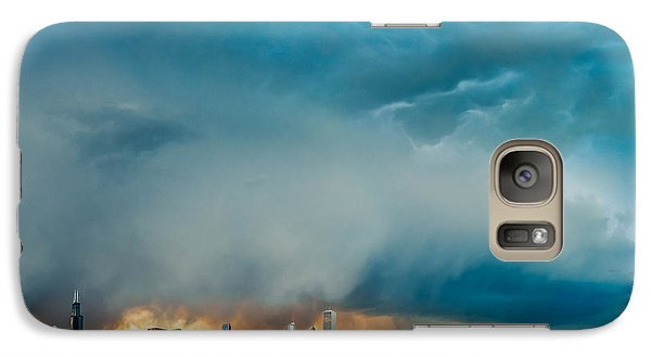 Attention Seeking Clouds Galaxy Case by Cory Dewald