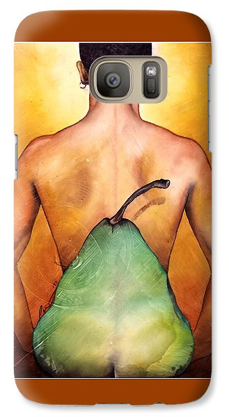 Galaxy Case featuring the painting Au Naturel by Christopher Marion Thomas
