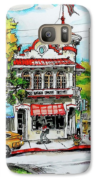 Galaxy Case featuring the painting Auburn Historical by Terry Banderas