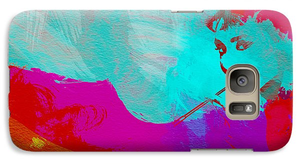 Audrey Hepburn Galaxy S7 Case by Naxart Studio