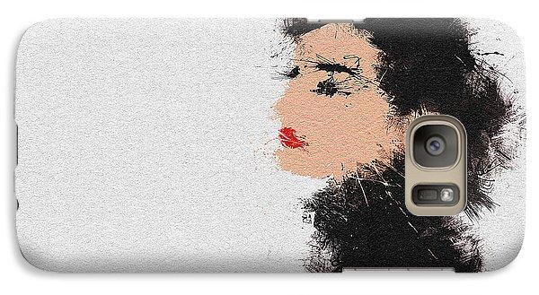 Audrey Hepburn Galaxy S7 Case by Miranda Sether