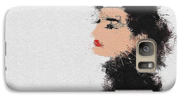 Audrey Hepburn Galaxy Case by Miranda Sether