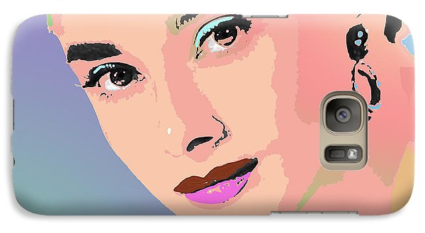 Galaxy Case featuring the digital art Audrey by John Keaton