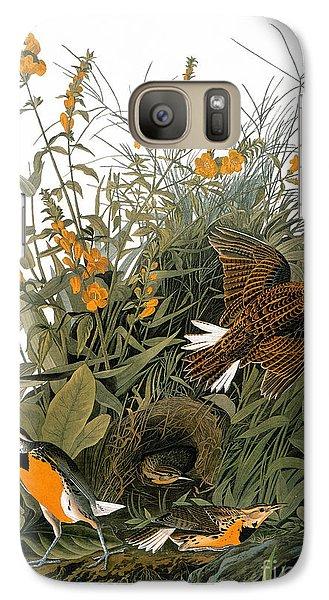 Audubon: Meadowlark Galaxy S7 Case by Granger