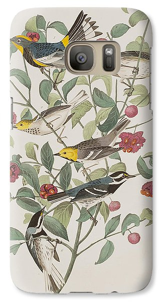 Audubons Warbler Hermit Warbler Black-throated Gray Warbler Galaxy S7 Case