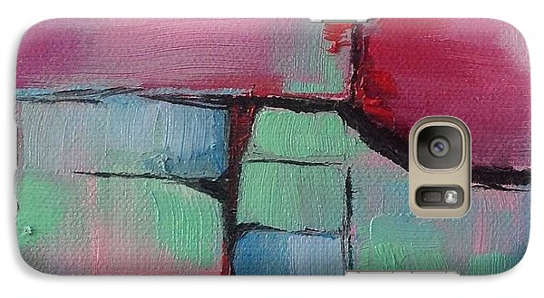 Galaxy Case featuring the painting August Fifth by Suzzanna Frank