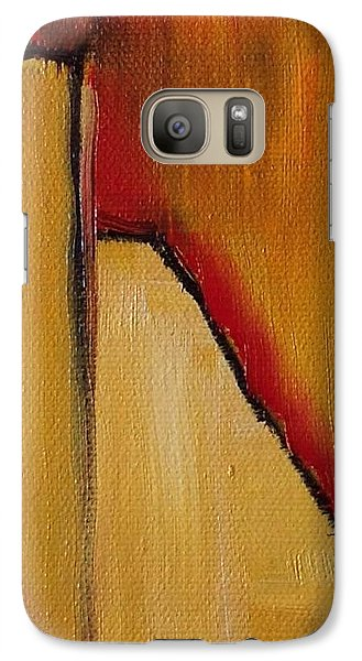 Galaxy Case featuring the painting August Fourth by Suzzanna Frank