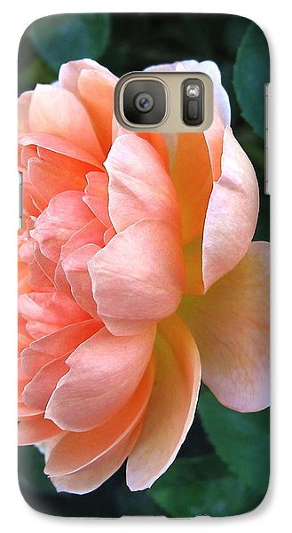 Galaxy Case featuring the photograph August Rose 09 by Joyce Dickens