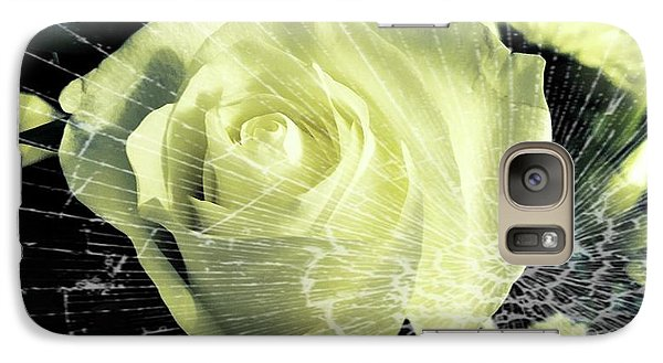 Aunt Edna's Rose Galaxy S7 Case