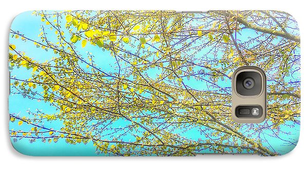 Galaxy Case featuring the photograph  Aura Of Springtime by Connie Handscomb