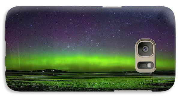 Galaxy Case featuring the photograph Aurora Australia by Odille Esmonde-Morgan