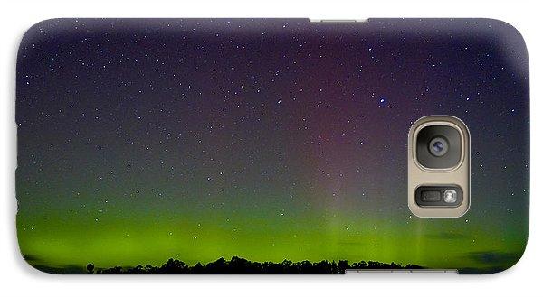 Galaxy Case featuring the photograph Aurora Australia Trial Bay Tasmania 19 March 2015 by Odille Esmonde-Morgan