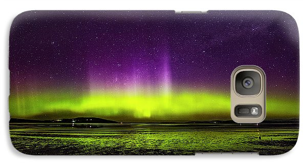 Galaxy Case featuring the photograph Aurora Australis by Odille Esmonde-Morgan