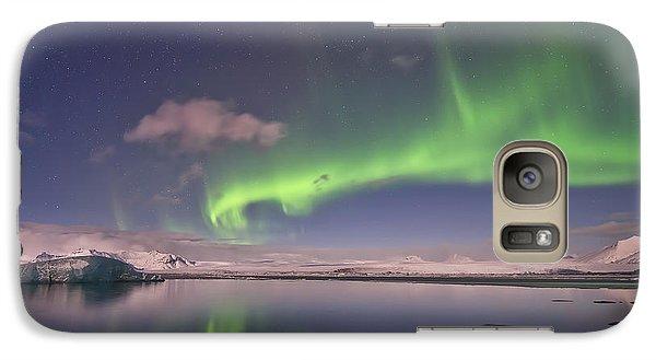 Aurora Borealis And Reflection #2 Galaxy S7 Case