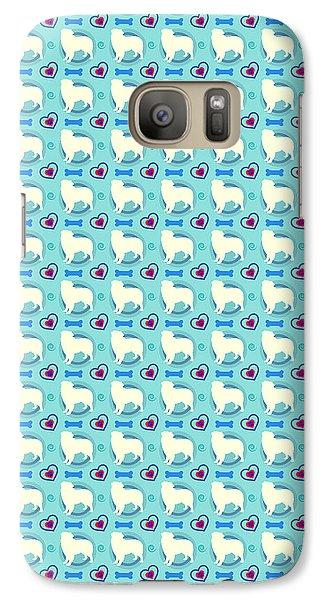 Aussie Dog Pattern Galaxy S7 Case