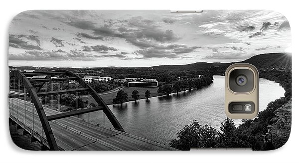 Austin 360 Pennybacker Bridge Sunset Galaxy S7 Case