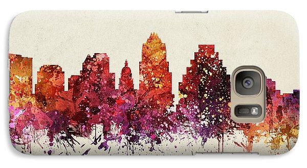 Austin Cityscape 09 Galaxy S7 Case by Aged Pixel