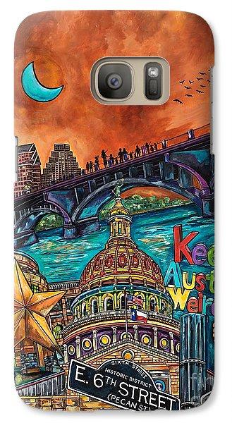 Austin Keeping It Weird Galaxy S7 Case