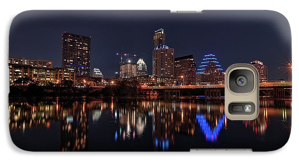 Austin Skyline At Night Galaxy S7 Case