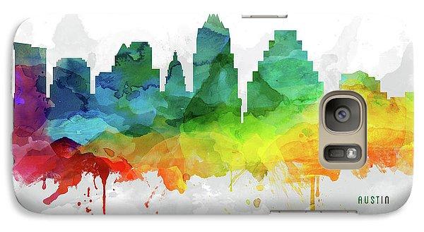 Austin Skyline Mmr-ustxau05 Galaxy Case by Aged Pixel