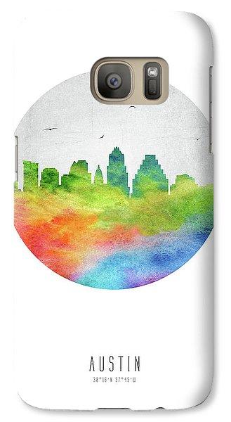 Austin Skyline Ustxau20 Galaxy S7 Case by Aged Pixel