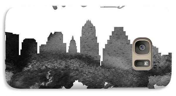 Austin Texas Skyline 18 Galaxy S7 Case by Aged Pixel