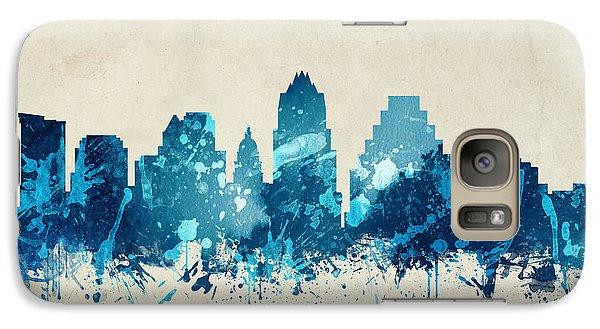 Austin Texas Skyline 20 Galaxy S7 Case by Aged Pixel