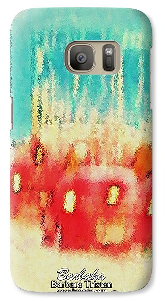 Galaxy Case featuring the photograph Austin Traffic by Barbara Tristan