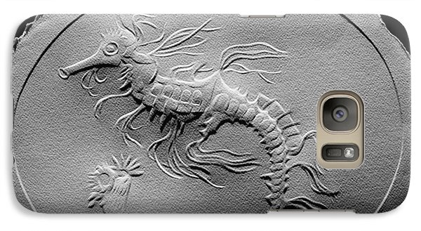 Galaxy Case featuring the relief Australian Reef Sea Horse by Suhas Tavkar