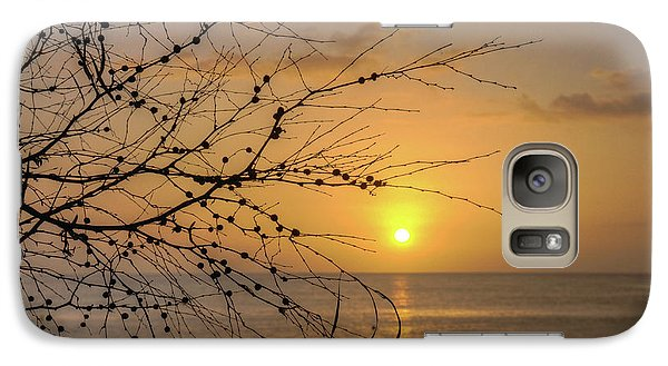 Galaxy Case featuring the photograph Australian Sunrise by Geraldine Alexander