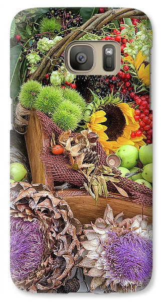 Autumn Abundance Galaxy S7 Case by Tim Gainey