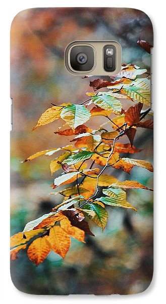 Galaxy Case featuring the photograph Autumn Aesthetics by Parker Cunningham