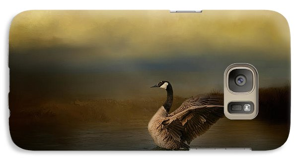 Autumn Afternoon Splash Galaxy Case by Jai Johnson