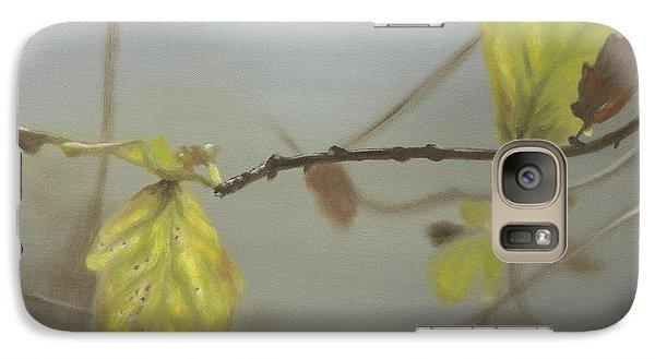 Galaxy Case featuring the painting Autumn by Annemeet Hasidi- van der Leij