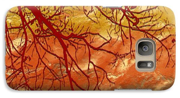 Galaxy Case featuring the digital art Autumn Art by Milena Ilieva