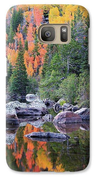 Autumn At Bear Lake Galaxy S7 Case by David Chandler