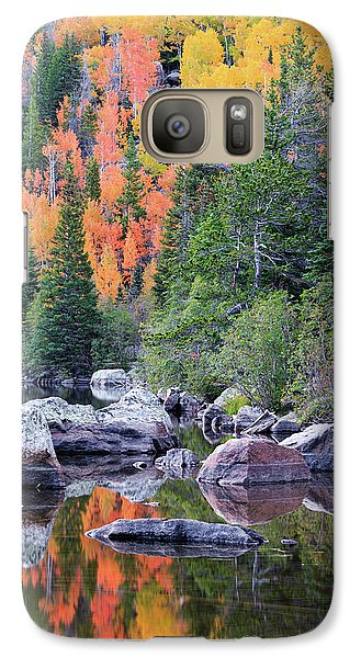Galaxy Case featuring the photograph Autumn At Bear Lake by David Chandler